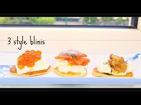 how to make Blini ( 3 style)