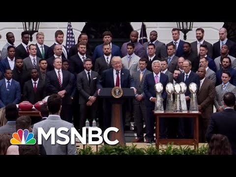 Needing Another Distraction, President Donald Trump Targets Eagles In Culture War   Deadline   MSNBC