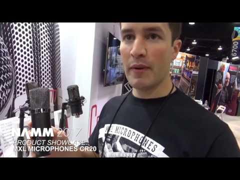 NAMM 2017 - MXL CR20 Microphone