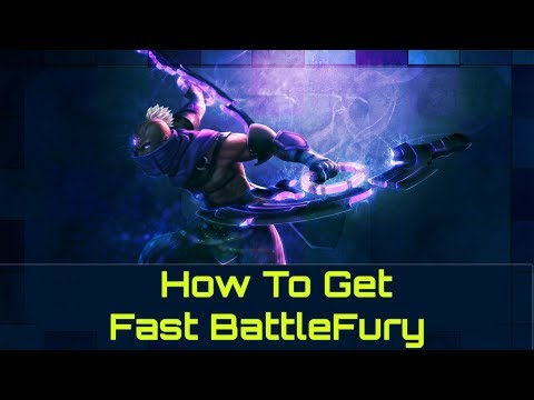 How To Get A Fast Battlefury | Dota 2 Guide