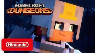 Minecraft Dungeons - Launch Trailer - Nintendo Switch