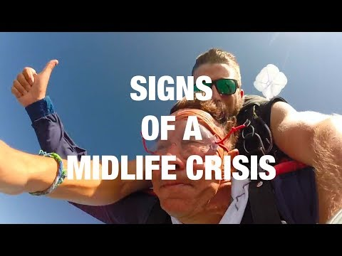 Signs You've Hit a Midlife Crisis