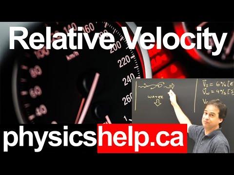 Relative Velocity Part 1 Kinematics Physics Lesson