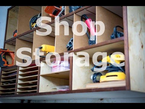 Shop organization - Power tool cabinet