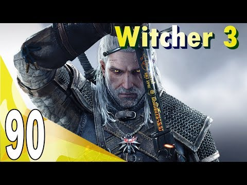 The Witcher 3 The Wild Hunt (Deathmarch) Walkthrough - On Thin Ice | Part 90