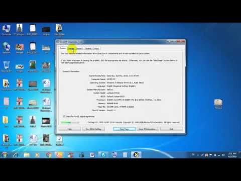 How to check graphics card on laptop