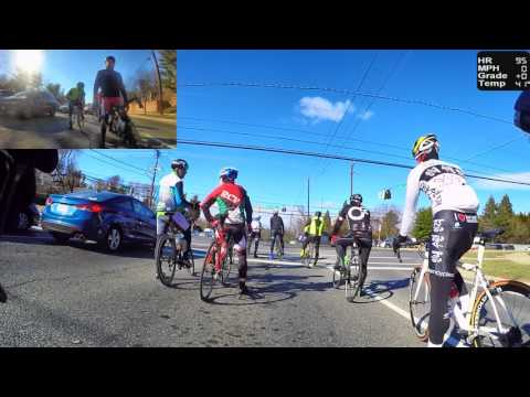 HD Cycling Training - Group Ride with Rolling Hills (Trainer/Rollers)