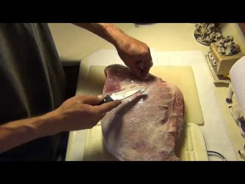 How To Cook Mesquite Slow Smoked Wild Boar BBQ Ham