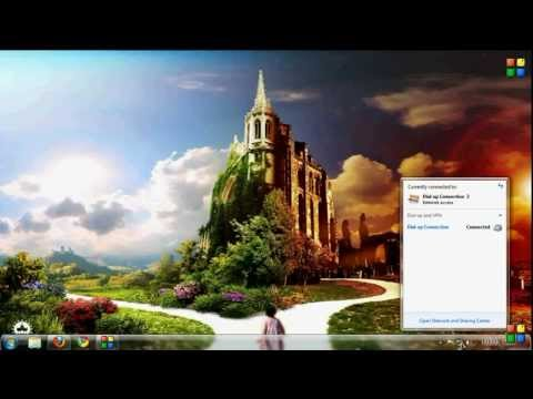 Connect Internet To Pc Via Mobile (using BLUETOOTH)-windows-7