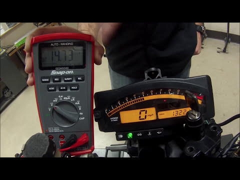 How to test ALL the motorcycle charging system components also found on ATV UTV