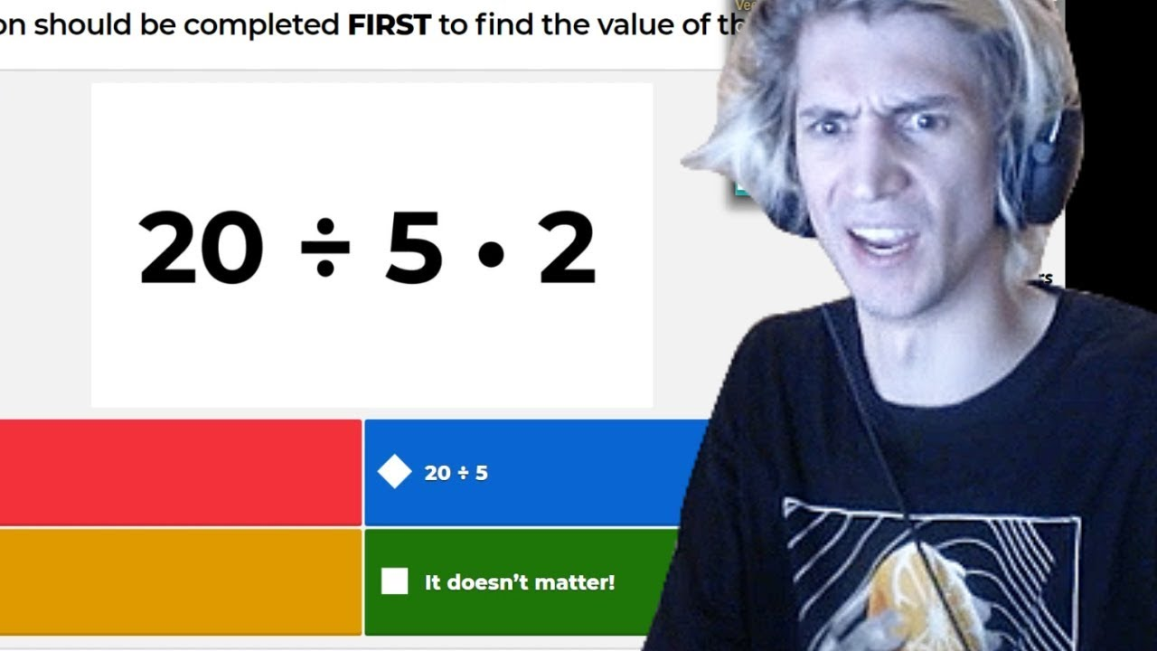 xQc Plays Kahoot! with Viewers