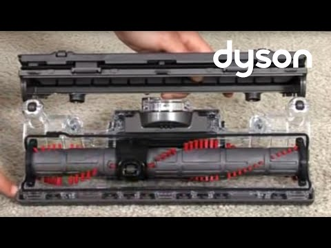 Dyson DC41, DC43 - Resetting the brush bar (Official Dyson video)