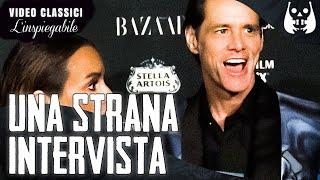 La strana e misteriosa intervista di Jim Carrey