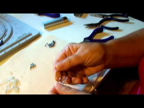 Wrapping memory wire to create an end
