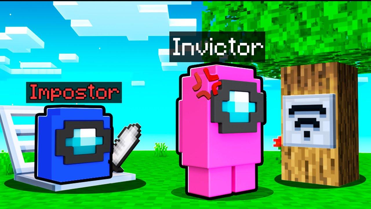 ¡El mejor impostor de Among Us en Minecraft! 🔪😂 Minecraft Among Us