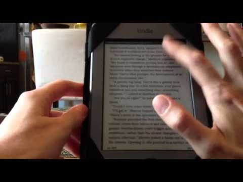 Changing Font on the Kindle Touch