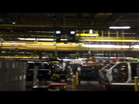 Behind the Scenes: GM Car Manufacturing Plant