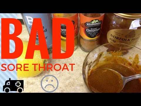 How to get rid of sore throat and cold  ||  mrcreativequarter
