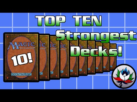 MTG – Top 10 Best/Most Powerful Magic: The Gathering Decks of All Time!