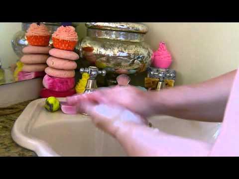 Edens Secret - Lather Testing on cold Process & Glycerine Melt and Pour Soaps