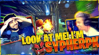 LOOK AT ME I'M SYPHERPK! Fortnite Squads ft. SypherPK, Reverse2K & JordanFisher
