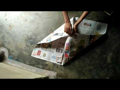 How to make paper parachute