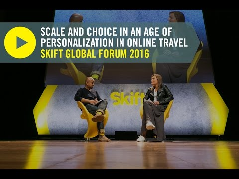 Booking.com President & CEO Gillian Tans at Skift Global Forum 2016
