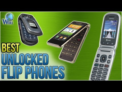 10 Best Unlocked Flip Phones 2018