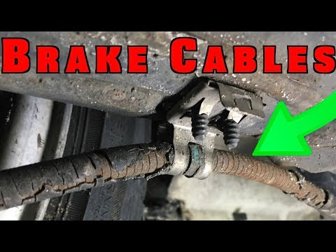How to Replace and Adjust Parking Brake Cables