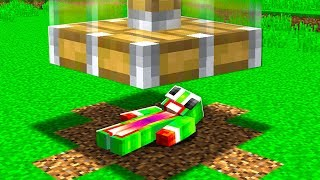 I WAS CRUSHED IN MINECRAFT!