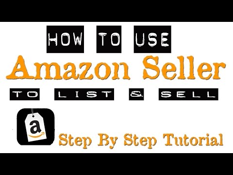HOW TO SELL ON AMAZON FBA | AMAZON SELLER SCANNER APP TUTORIAL