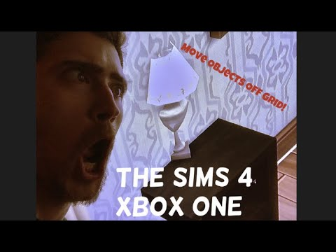 The Sims 4 : Xbox One : Move Object Freely CHEAT CODE!