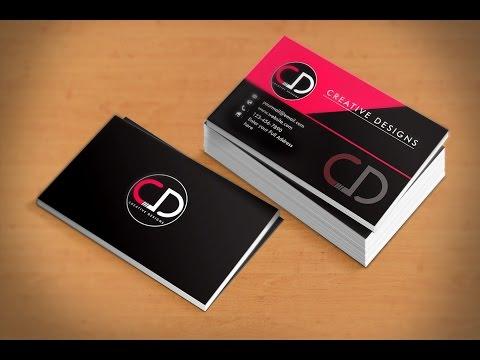 Professional Business Card Design Tutorial in Adobe Illustrator