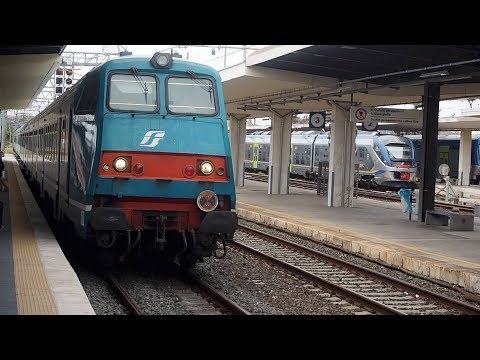 Taking the train from Pisa to Florence | Train travel in Italy