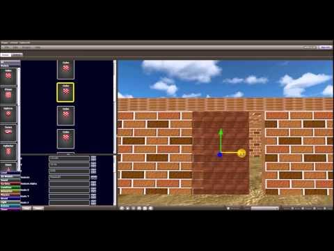 Cyberix3D - Free Online 3D Game Maker - Open the door if key found