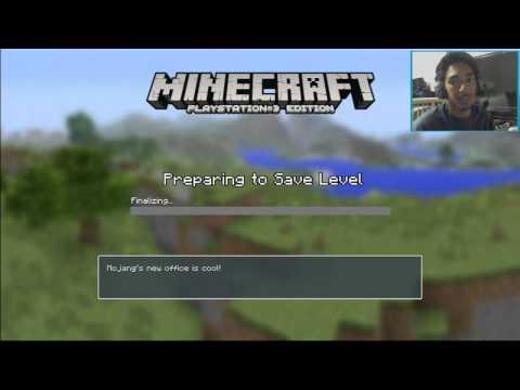 Tutorial: Minecraft Splitscreen PS3 Edition