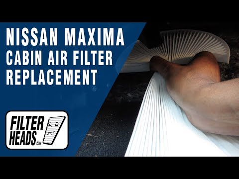 How to Replace Cabin Air Filter 2013 Nissan Maxima
