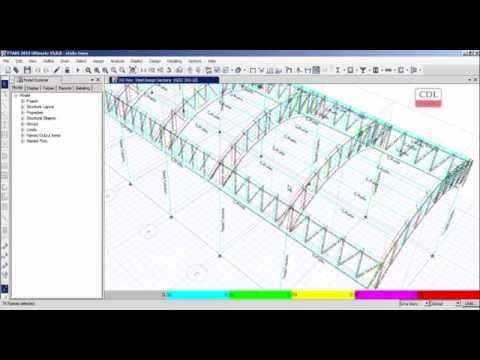 ETABS-Design of Curved Truss