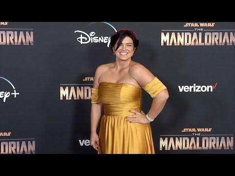 "Gina Carano ""The Mandalorian"" Premiere Red Carpet"