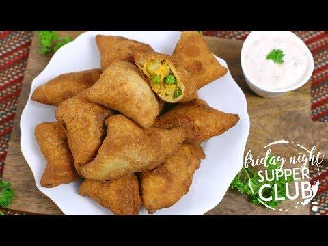 Homemade Samosas | Friday Night Supper Club