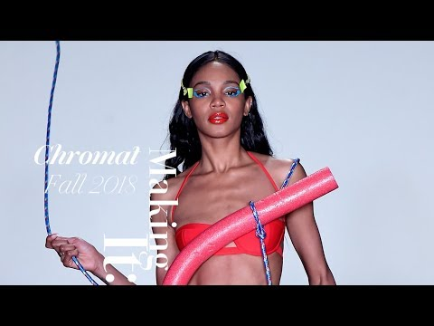 How Chromat's Fall 2018 Beauty Look Was Created | WWD