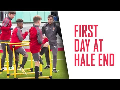 What's a player's first day at Arsenal like?