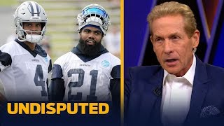 Skip Bayless on reports Cowboys are willing to have Dak, Zeke & Amari play out the year | UNDISPUTED