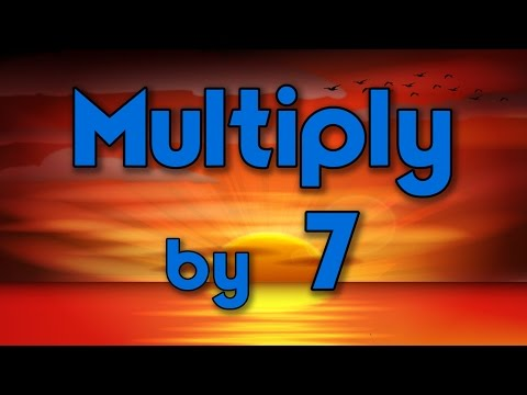 Multiply by 7 | Learn Multiplication | Multiply By Music | Jack Hartmann