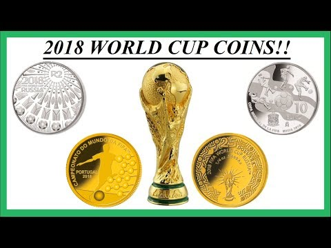 2018 WORLD CUP COINS FROM AROUND THE WORLD!!