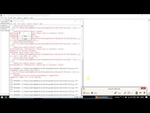 python GUI SYS tutorial-3 (radio button)