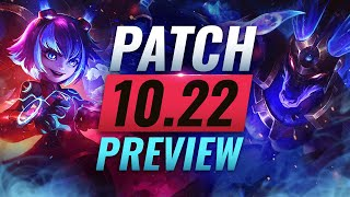 NEW PATCH PREVIEW: Upcoming Champ Adjustments for Patch 10.22 - League of Legends Season 10