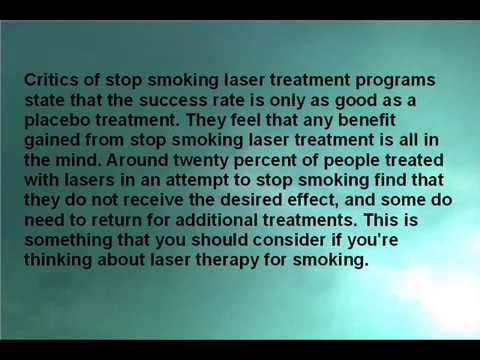 Does Stop Smoking Laser Treatment Really Works