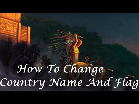 Europa Universalis IV:How To Change Country Name And Flag
