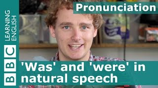 Pronunciation: The words